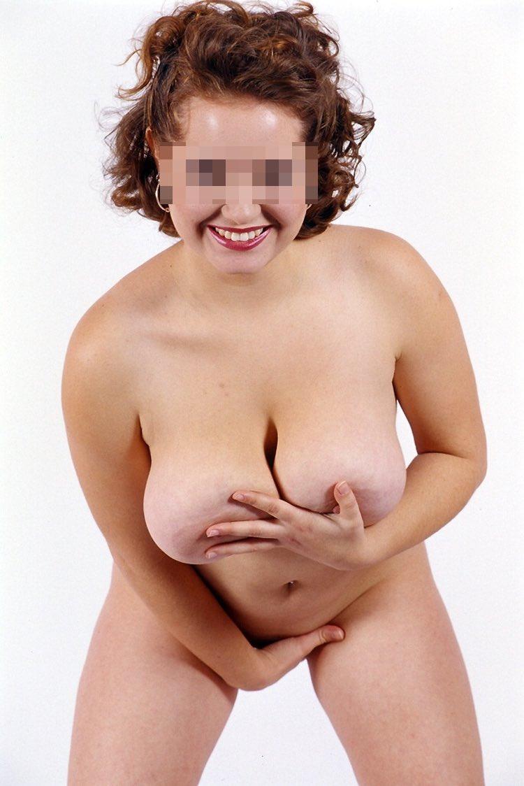 Belle ronde femme au gros seins